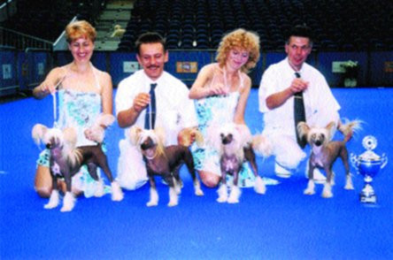 World Dog Show Amsterdam 2002